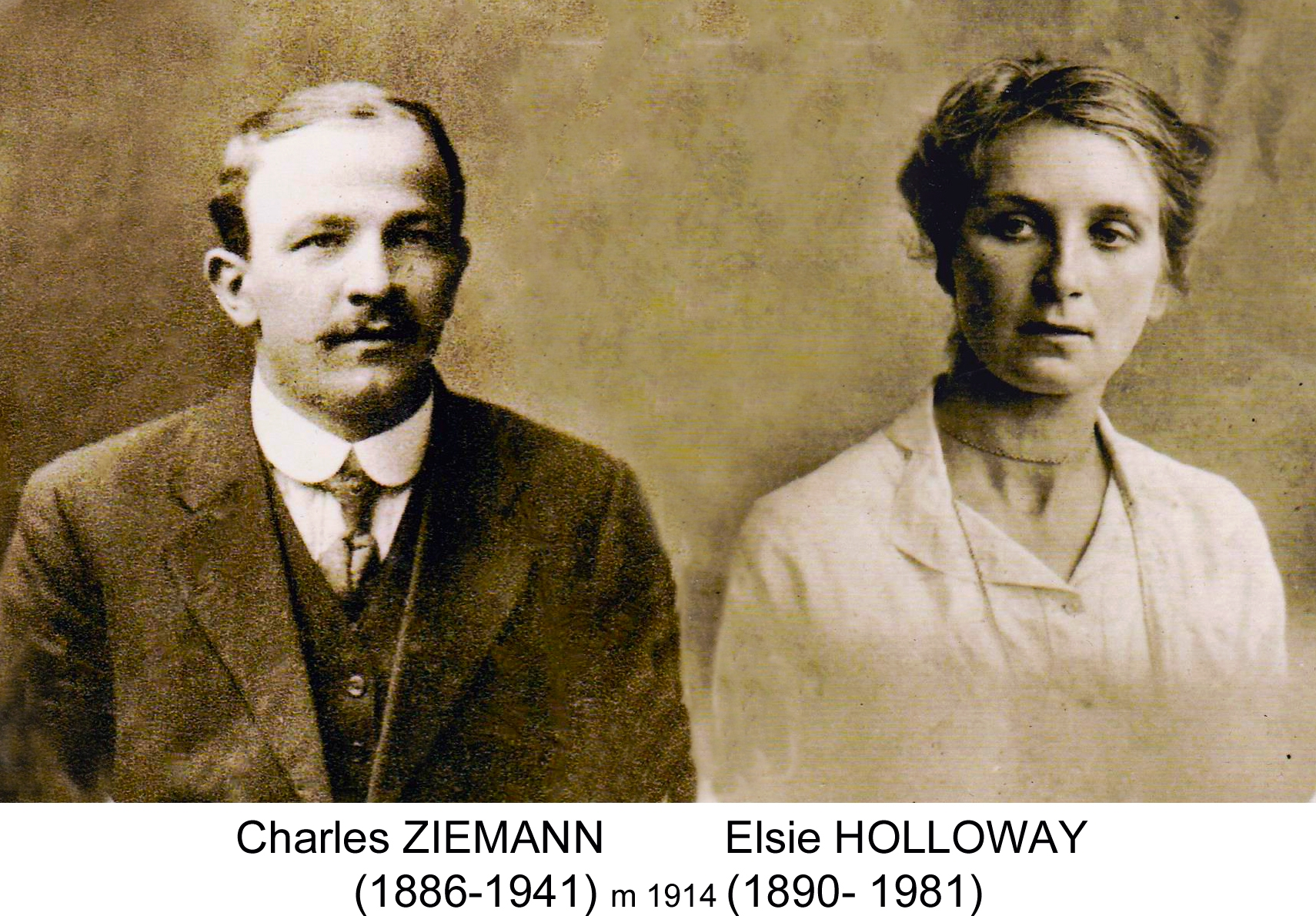 Charles ZIEMANN and his wife