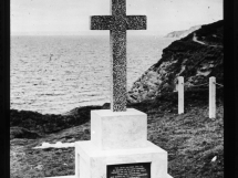 Memorial Cross dedication service 1949