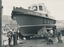 Steel Boats built in Porthleven
