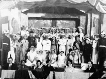 Amateur Dramatics 1926-27 HMS Pinafore Porthleven Church