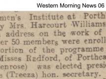 Womens Institute 1925