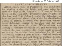 Petty Theft 1905